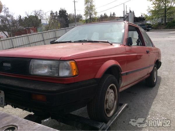 Row52 1989 Nissan Sentra At Pick N Pull San Jose South Jn1gb22s5ku564499 Nissan has been selling the sentra in the u.s. row52 1989 nissan sentra at pick n