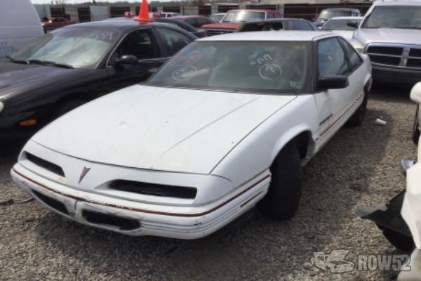 row52 1991 pontiac grand prix at pick n pull kansas city winner rd 1g2wj14t1mf271819 row52 1991 pontiac grand prix at pick