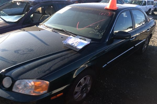 Row52 2003 Kia Optima At Pick N Pull Rancho Cordova Knagd128535200579