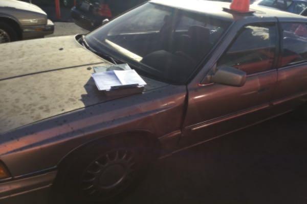 Row52 1988 Acura Legend At Pick N Pull Rancho Cordova