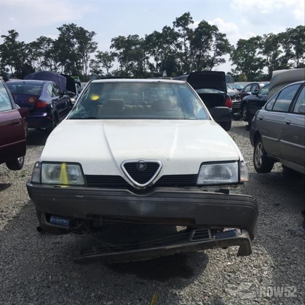 row52 | 1991 alfa romeo 164 at u pull & pay pittsburgh zarea33l8m6201745