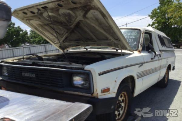 Row52 1984 Mazda B Series At Pick N Pull Stockton Jm2uc1211e0896218
