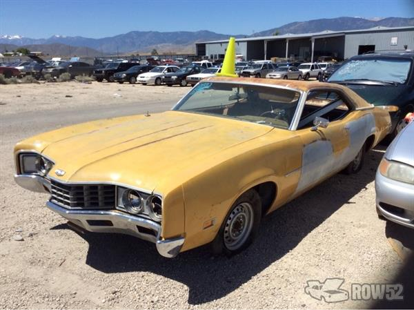 Row52 1971 Mercury Montego At Pick N Pull Carson City Rndxotgeust1bzc00pfjb5dss